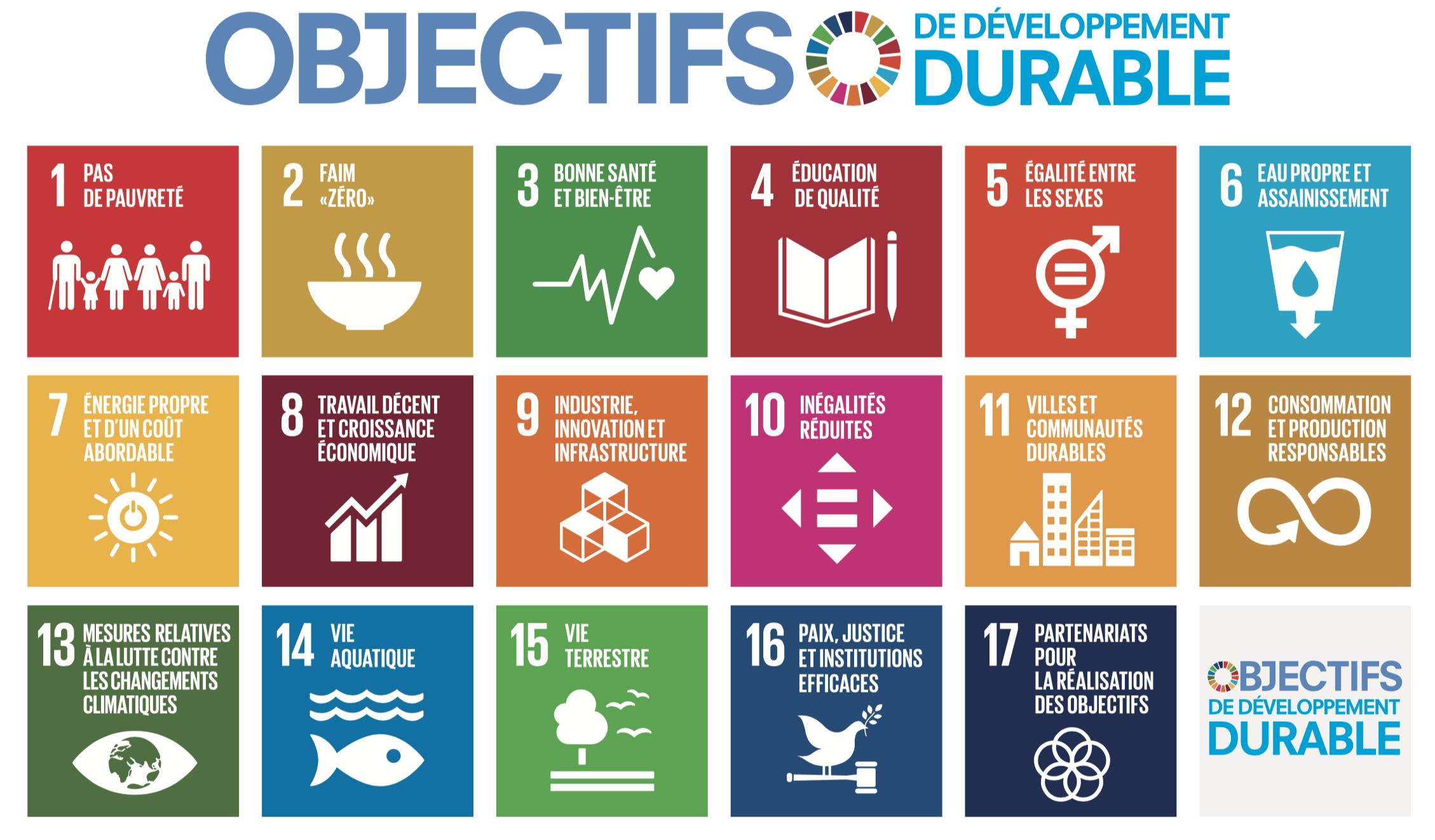 Choisir Gobi, c'est participer aux ODD de l'Agenda 2030